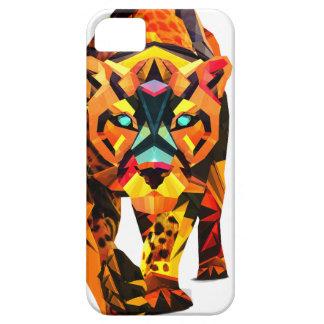 Geometric Tiger Prowl iPhone SE/5/5s Case