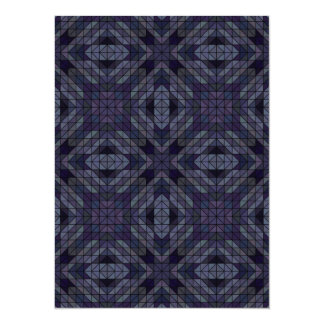 Geometric tiles repeat card