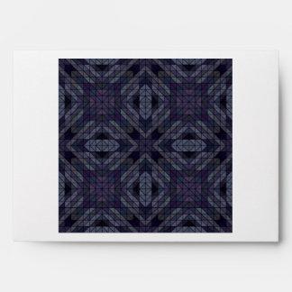 Geometric tiles repeat envelope