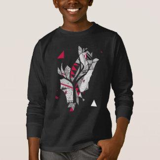geometric tree shirt