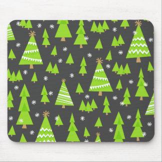 Geometric Trees Mouse Pad