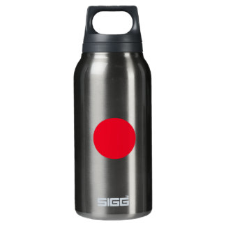 geometric - triangle, circle and square insulated water bottle