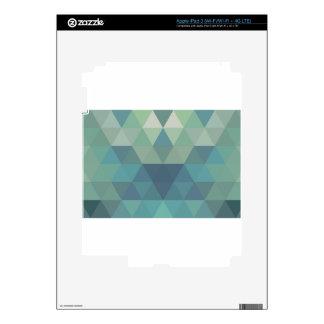 Geometric Triangles Decal For iPad 3