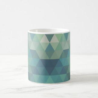 Geometric Triangles - Fresh Water Coffee Mug
