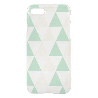 Geometric triangles hipster pastel triangle iPhone 8/7 case