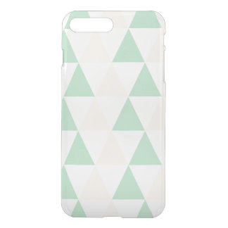 Geometric triangles hipster pastel triangle iPhone 8 plus/7 plus case
