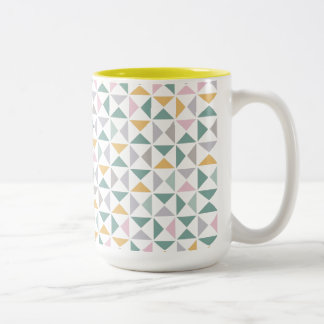 Geometric Triangles Mugs