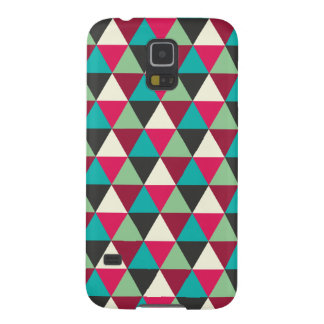 Geometric Triangles Pattern Ethnic Tribal Case For Galaxy S5