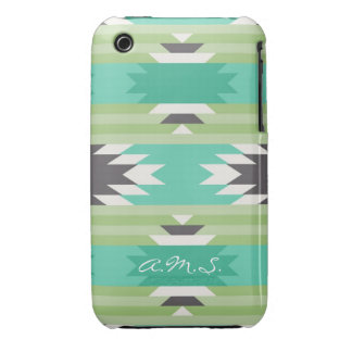 Geometric tribal aztec andes hipster navaj pattern iPhone 3 case