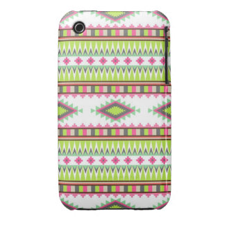 Geometric tribal aztec andes hipster navaj pattern Case-Mate iPhone 3 case