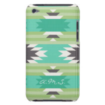 Geometric tribal aztec andes hipster navaj pattern Case-Mate iPod touch case