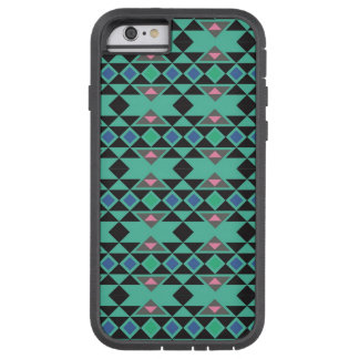 Geometric tribal aztec andes hipster teal pattern tough xtreme iPhone 6 case