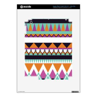 Geometric Tribal Triangle Retro Skins For iPad 3