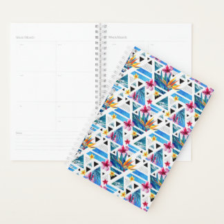 Geometric Tropical Flowers Pattern Planner