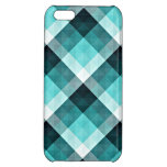 Geometric Turquoise Pattern iPhone 5C Covers