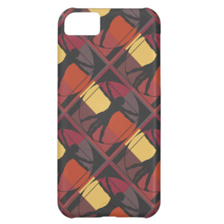Geometric Vitruvian Man Cover For iPhone 5C