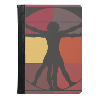 Geometric Vitruvian Man iPad Air Case