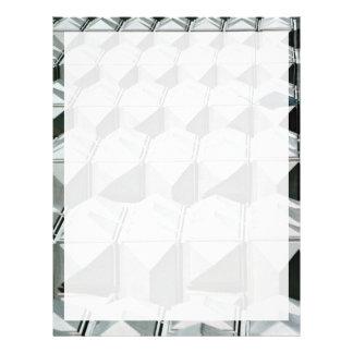 Geometric wall, Czech Republic Letterhead Design