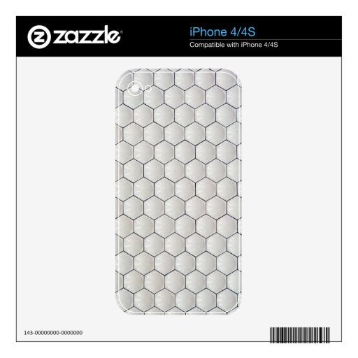 Geometric wall iPhone 4S skins