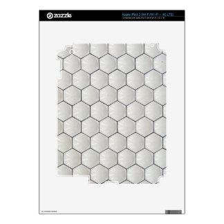 Geometric wall iPad 3 decals