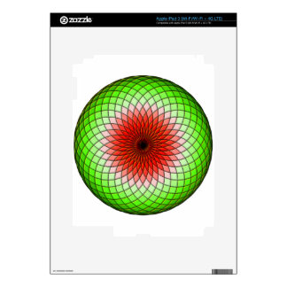 Geometric Watermelon iPad 3 Decals