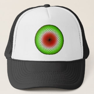 Geometric Watermelon Trucker Hat