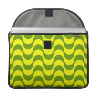 Geometric Wave Design MacBook Pro Sleeve