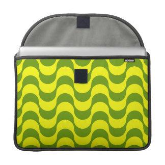 Geometric Wave Design Sleeve For MacBooks
