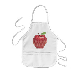 Geometrical Apple Apron