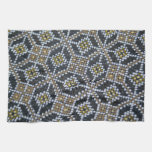 Geometrical Dot painted pattern Kitchen Towel