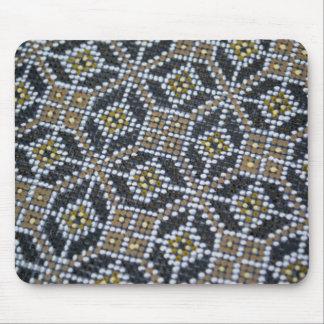 Geometrical Dot painted pattern Mousepad
