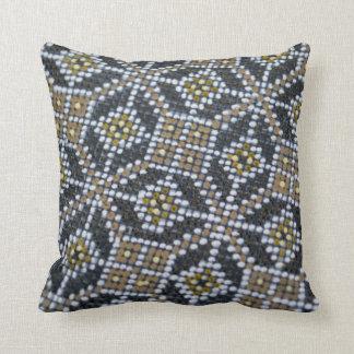 Geometrical Dot painted pattern Pillow