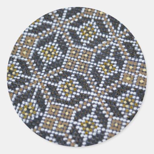 Geometrical Dot painted pattern Sticker