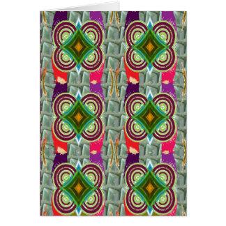 Geometrical Graphic Jewel Deco FUN Cards Greetings