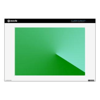 Geometrical Green Angle Laptop Skin