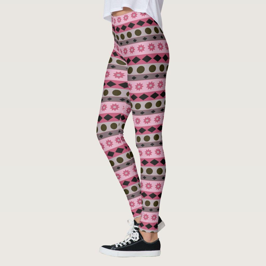 Geometrical Horizontal Stripes and Symbols