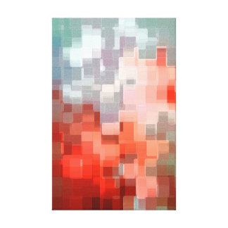 Geometrical Landscape Canvas Print