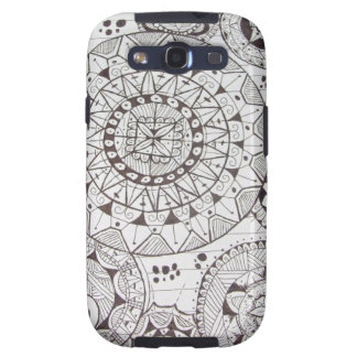 geometricas de los formas de COM del abstrato Galaxy S3 Cobertura