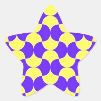 geometricas de los formas de COM del padrão Pegatina En Forma De Estrella