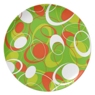 geometricas de los formas de COM del padrão Plato Para Fiesta