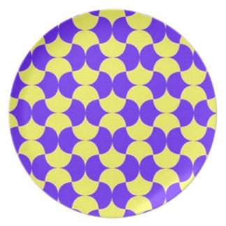 geometricas de los formas de COM del padrão Platos Para Fiestas