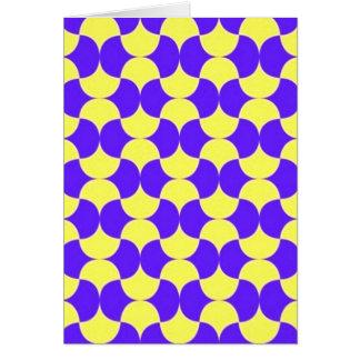 geometricas de los formas de COM del padrão Tarjeta De Felicitación