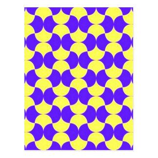 geometricas de los formas de COM del padrão Postales