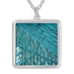 Geométrico azul joyeria personalizada