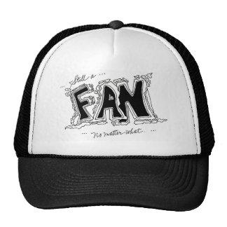 Geométrico blanco y negro gorras de camionero