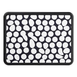 Geométrico blanco y negro intrépido tapa de tráiler
