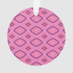 Geométrico bonito en sobre todo rosado