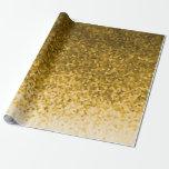 Geométrico de oro amarillo