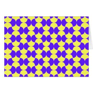 geometrico del padrão tarjeta de felicitación