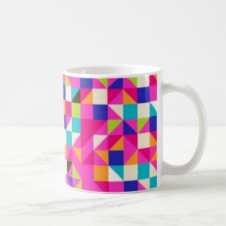 geometrico del padrão tazas de café